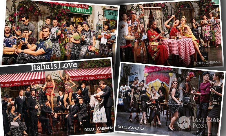 Kampania Dolce & Gabbana wiosna-lato 2016 (fot. Dolce & Gabbana)