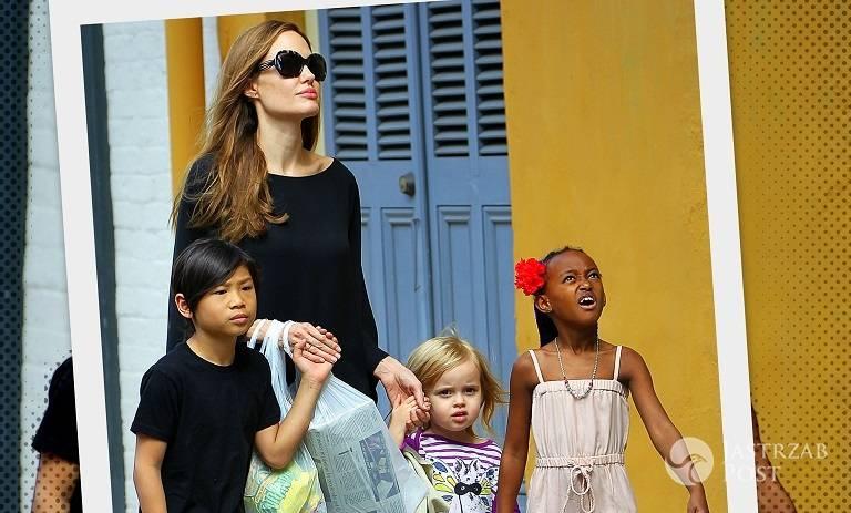 Angelina Jolie sprytnie to sobie wymyśliła! Znalazła idealny sposób na wygranie batalii o dzieci! zdjecie 1