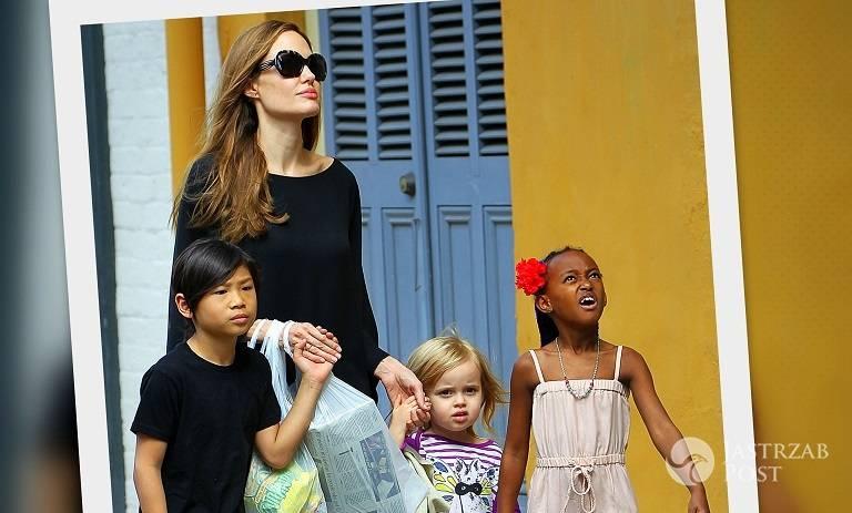 Angelina Jolie nie chciała mieć dzieci