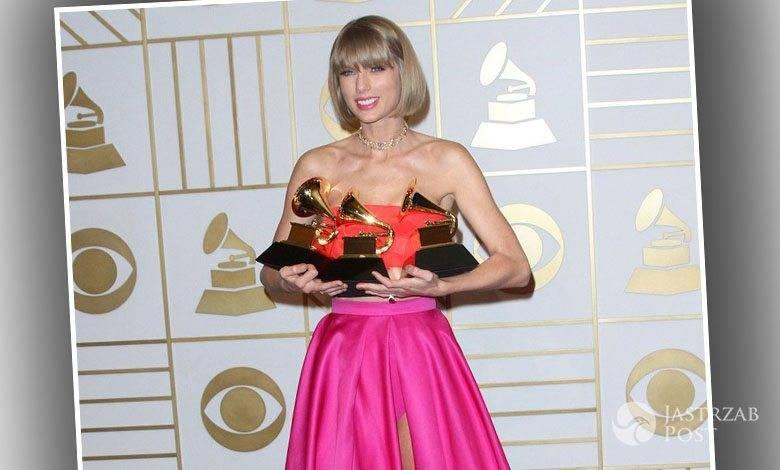 Taylor Swift dostała trzy Grammy 2016, w tym dwie za najlepszy album (fot. East News)