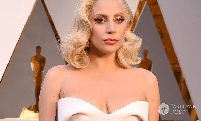 Kreacja: Brandon Maxwell. Lady Gaga, Oscary 2016 (fot. East News)