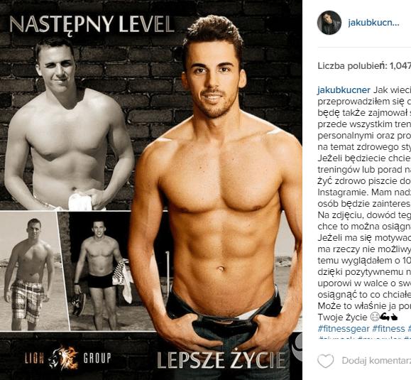 Jakub Kucner - trener personalny