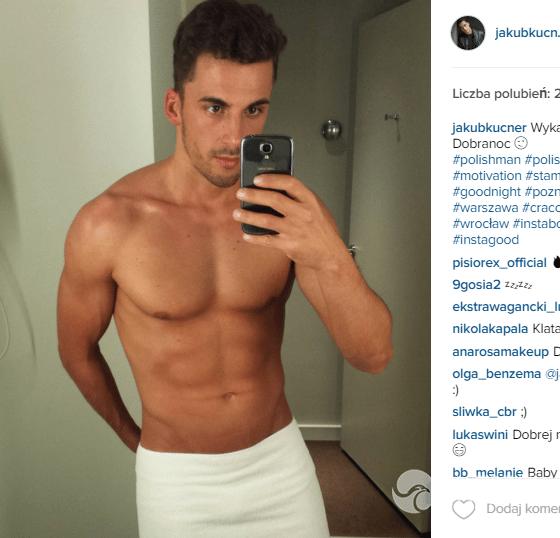 Jakub Kucner na Instagramie