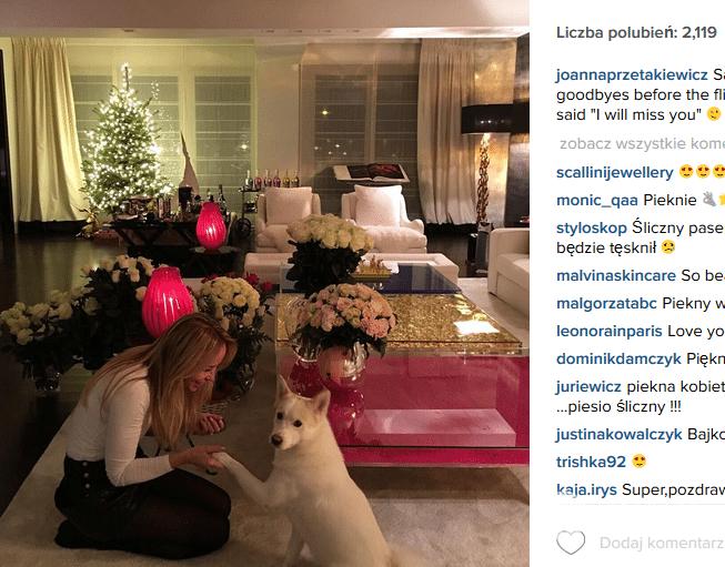 Dom Joanny Przetakiewicz (fot. Instagram) - Jastrząb Post Rihanna Instagram