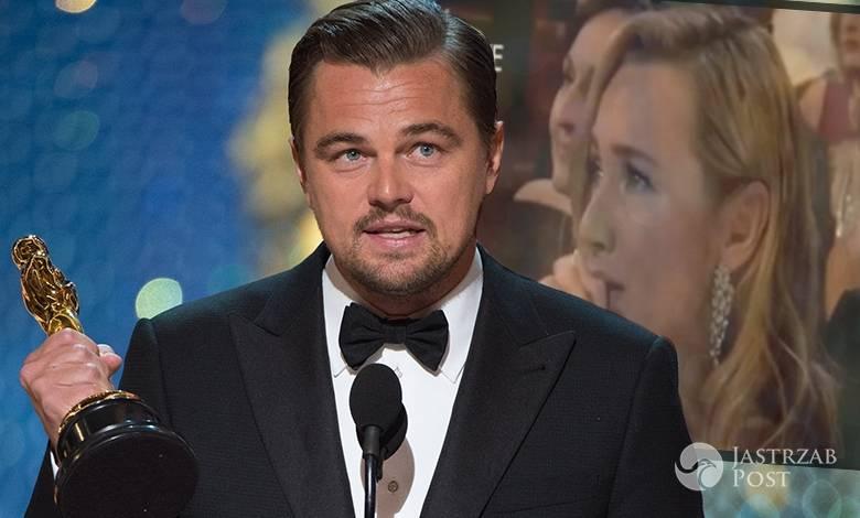 Kate Winslet płakała podczas przemówienie Leonardo na Oscarach 2016