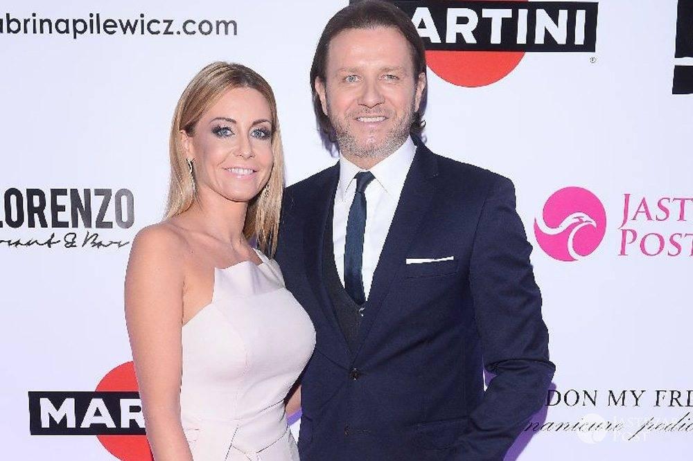Małgorzata Rozenek i Radosław Majdan na Imprezie oskarowej 2016 z E! Entertainment, Martini i Jastrząb Post