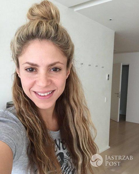 Shakira bez makijażu