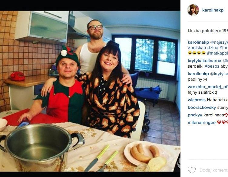 Karolina Korwin-Piotrowska pokazała fotografię z planu zdjęciowego