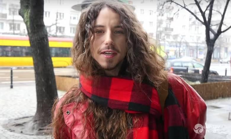 Michał Szpak prosi o głosy na Eurowizji 2016