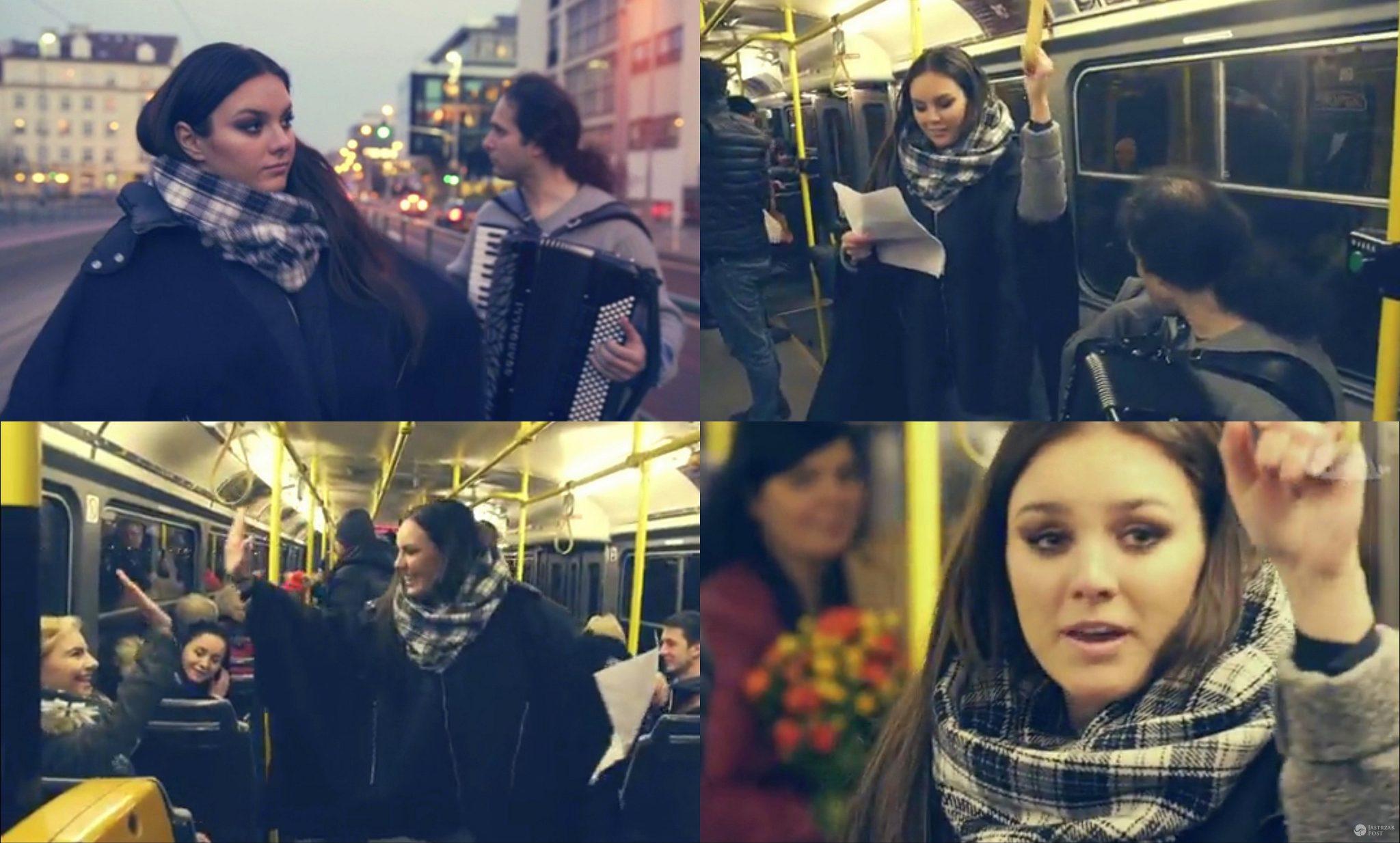 Ewa Farna zaśpiewała w tramwaju