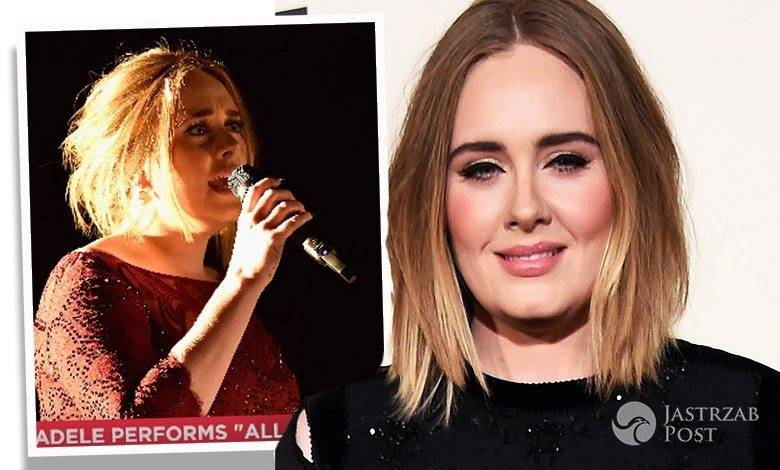 Adele o wpadce na Grammy 2016