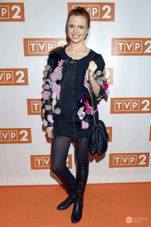 Katarzyna Burzyńska, ramówka TVP 2, wiosna 2016 (fot. AKPA)