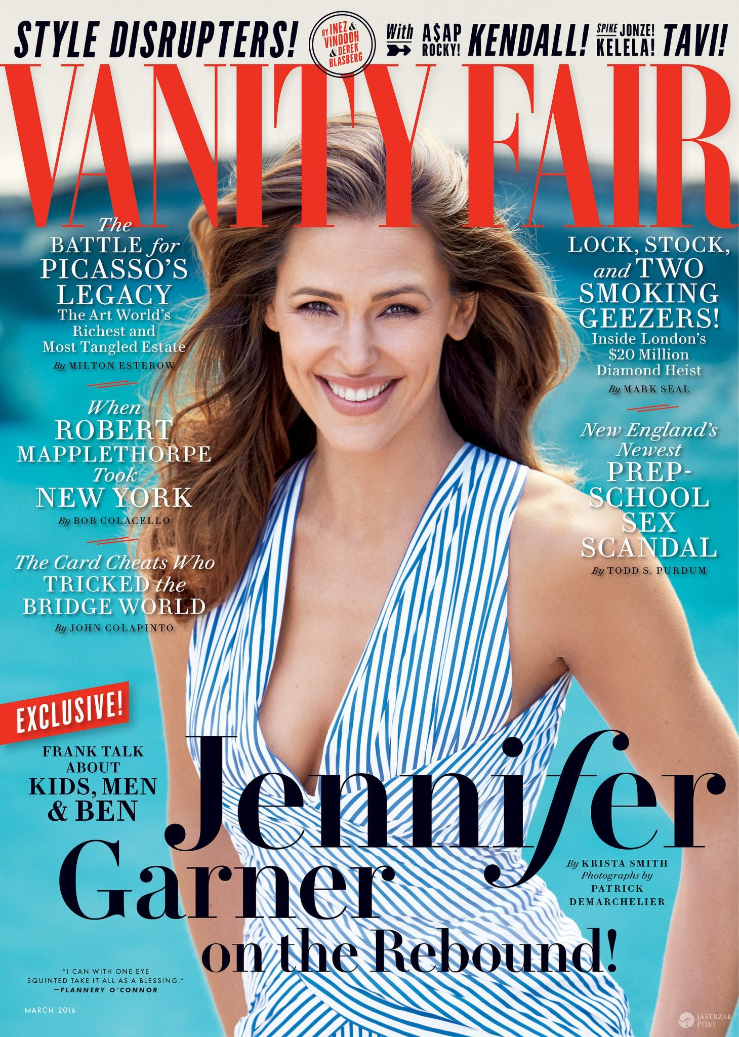 "Jennifer Garner w ""Vanity Fair"""