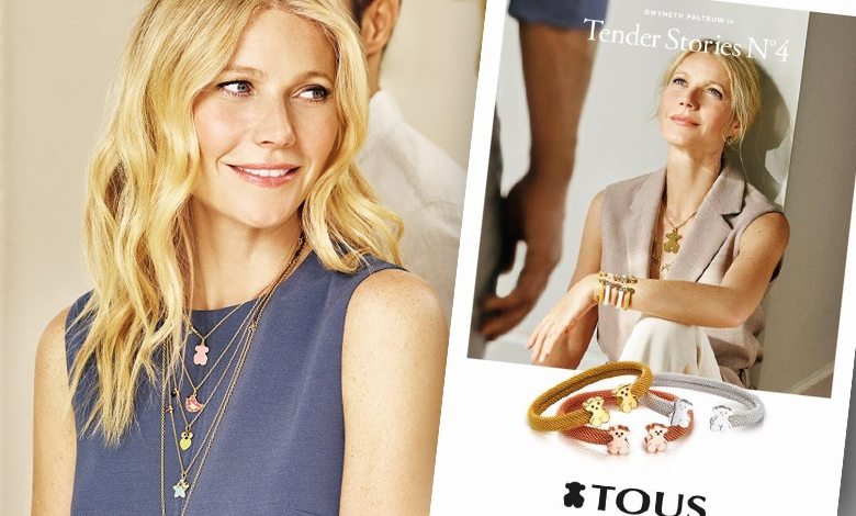Gwyneth Paltrow, Tender Stories nr 4, reklama Tous (fot. Tous)