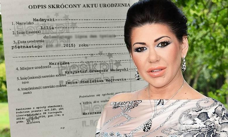 Iwona Węgrowska zabrała głos w sprawie afery z aktem urodzenia jej córki