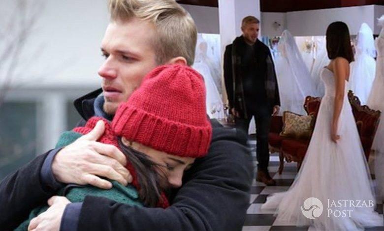 M jak miłość Iza (Adriana Kalska), Artur (Tomasz Ciachorowski)