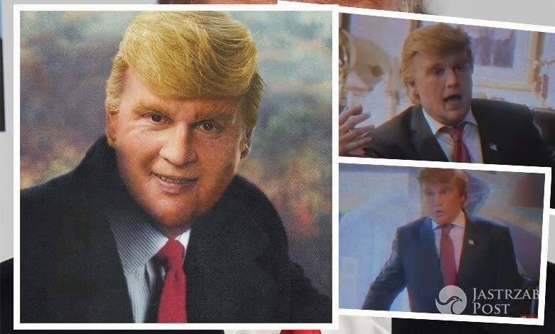 Johnny Depp jako Donald Trump
