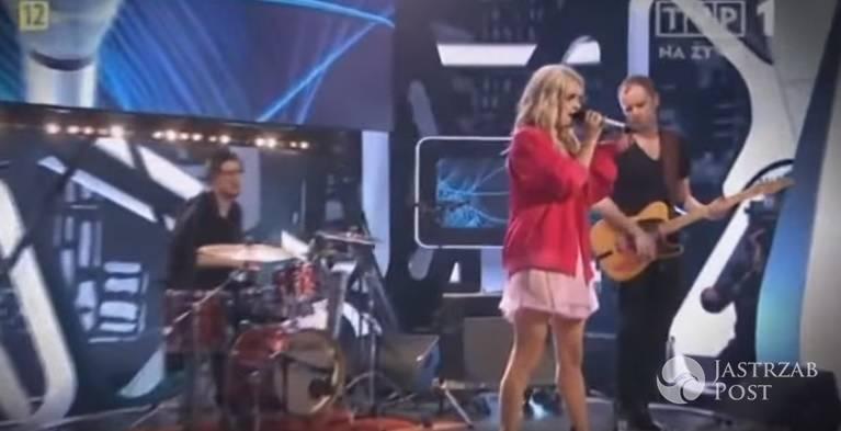 Margaret - Cool Me Down na żywo w programie Świat się kręci fot.screen z youtube.com