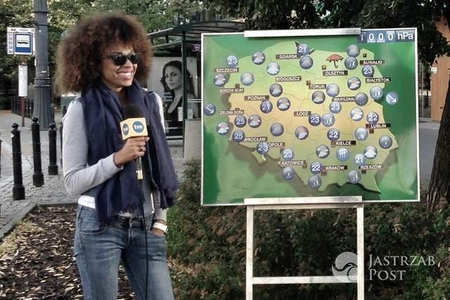 Omenaa Mensah - co robi poza zapowiadaniem pogody?