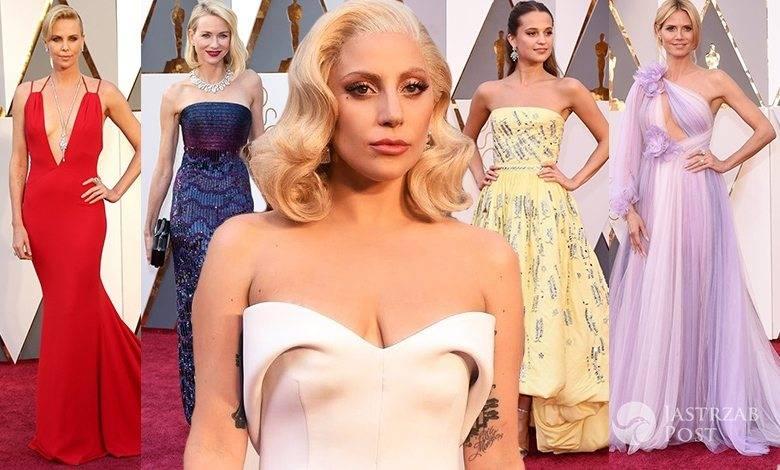Oscary 2016 kreacje gwiazd