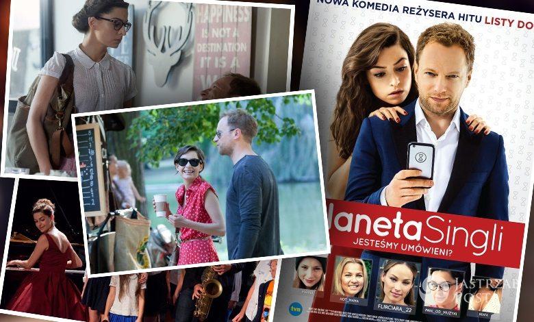 Kostiumy Agnieszki Więdłochy w filmie Planeta singli. Jakie stroje, jakich marek nosi Ania?