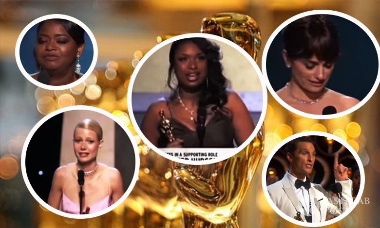 Podziękowania Oscarowe - komu dziękowano najczęściej?