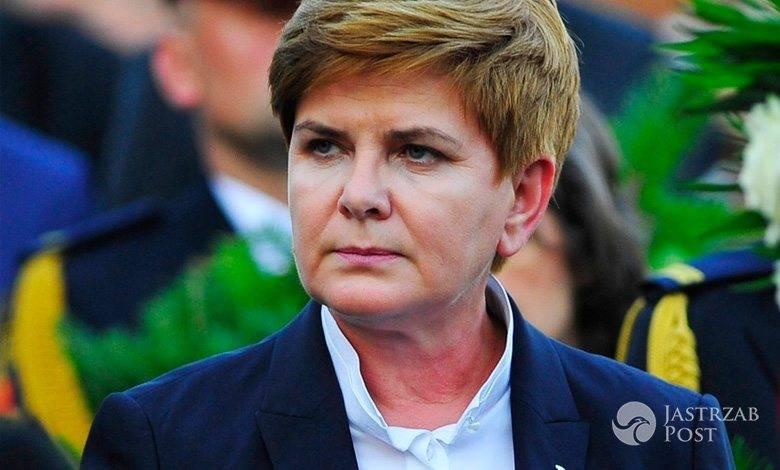 Beata Szydło nie skomentowała zakupów męża