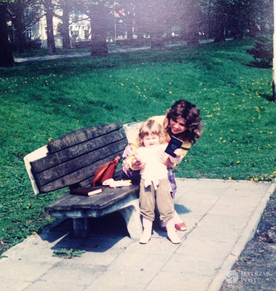 Anna Jurksztowicz z córką Marią Dębską