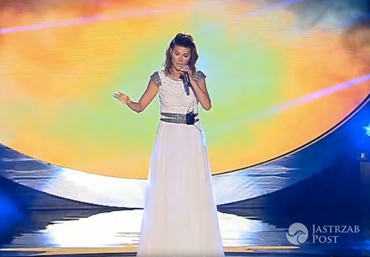 Sukienka Edyty Górniak na Eurowizji 2016