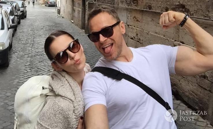 Paulina Sykut w Rzymie z mężem - zdjęcia
