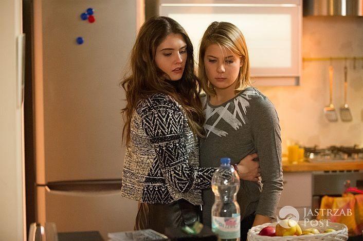 Na Wspólnej, Ola (Marta Wierzbicka), Klaudia (Julia Trembecka), fot: X-news