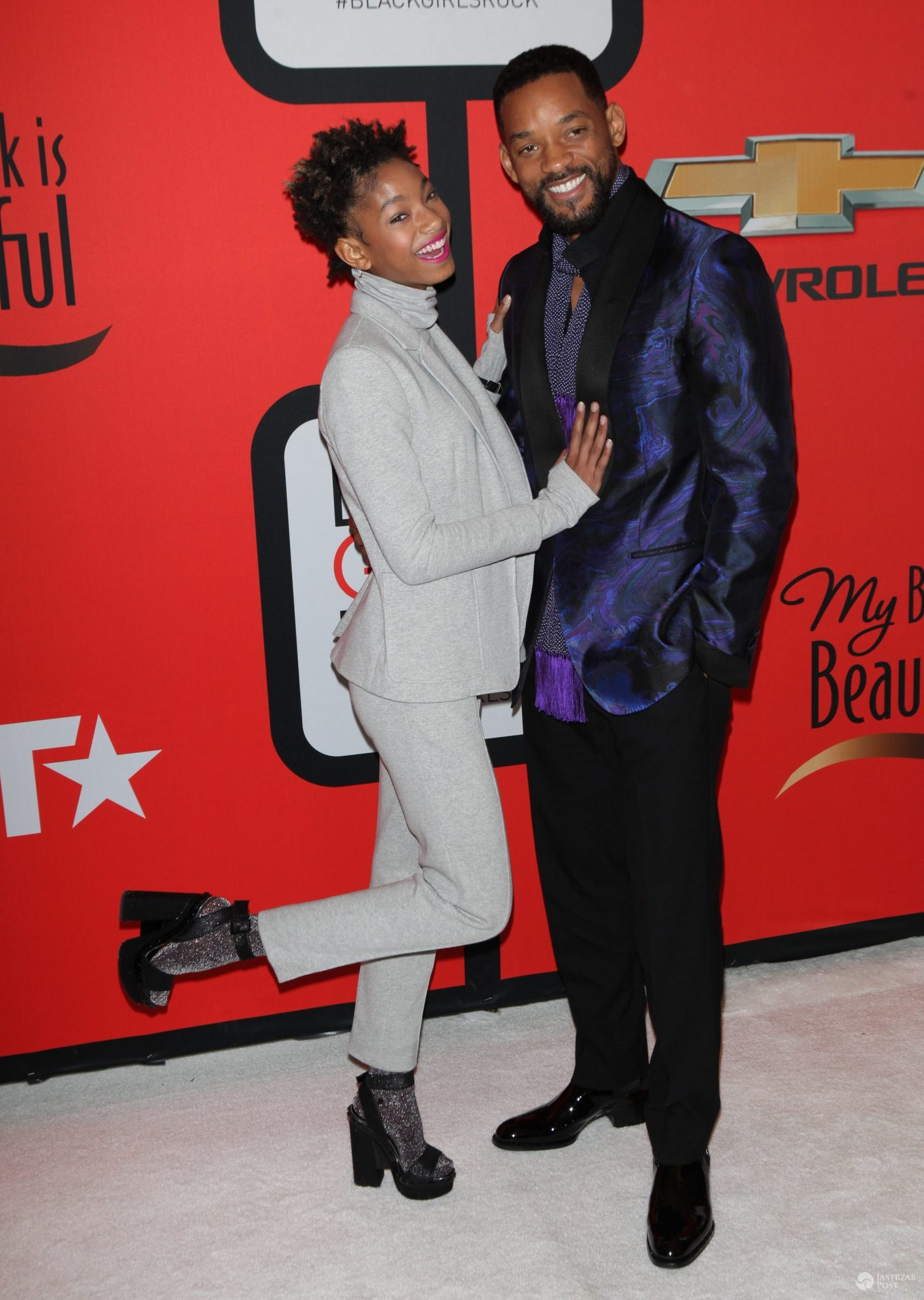 Willow Smith i Will Smith (fot. ONS)