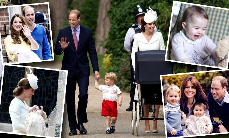 Zdjęcia z pierwszego roku życia księżniczki Charlotte
