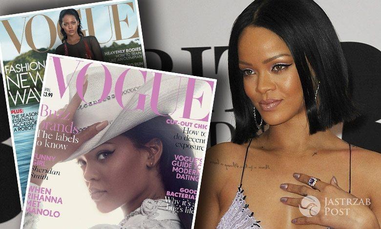 Rihanna na dwóch okładkach Vogue'a
