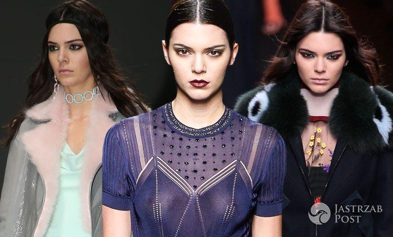 Kendall Jenner na Milan Fashion Week 2016 (fot. ONS)
