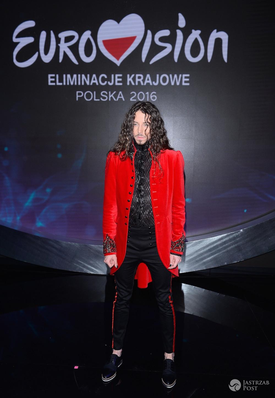 Michał Szpak na preselekcjach do Eurowizji 2016