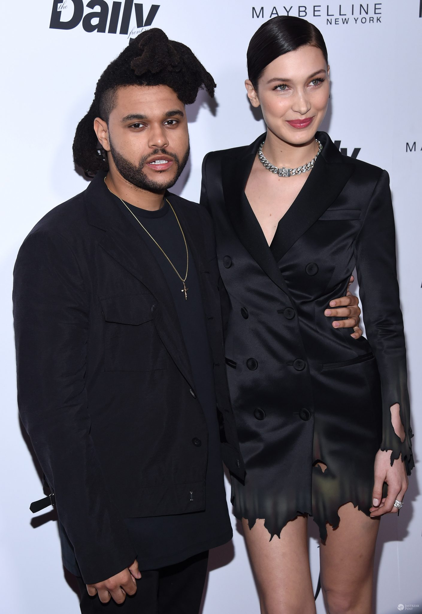 The Weeknd i Bella Hadid, nagrody The Daily Front Row (fot. ONS)