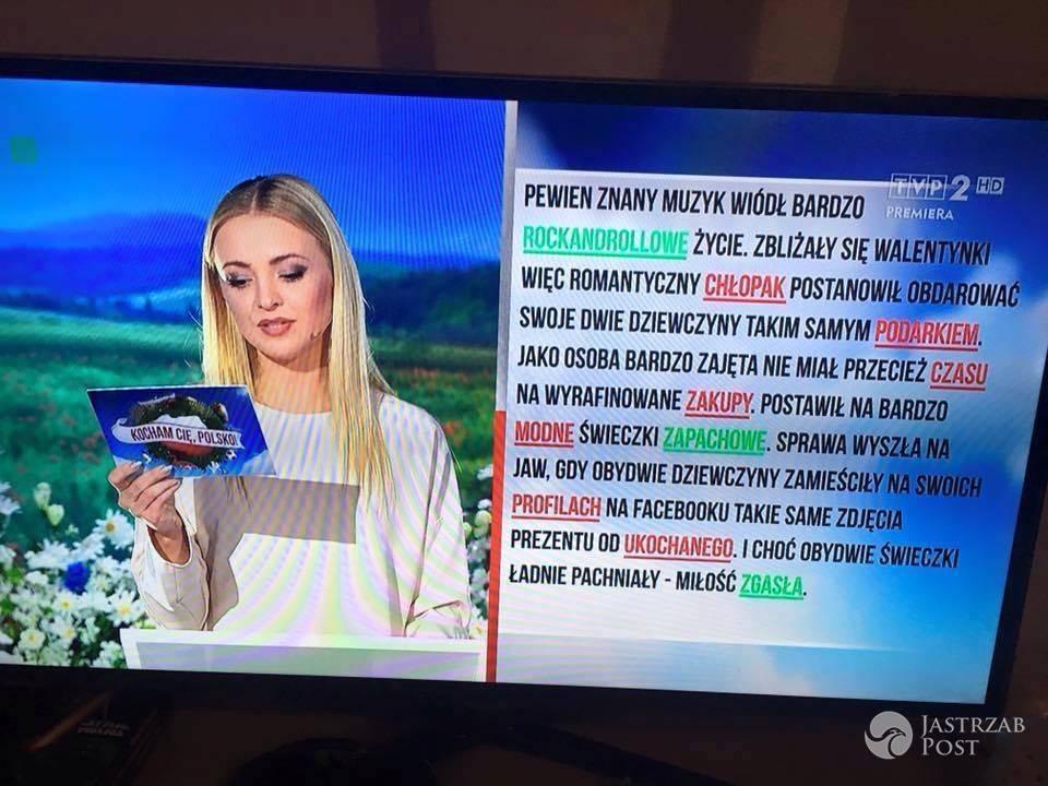 """Barbara Kurdej-Szatan w """"Kocham Cię Polsko"""""""