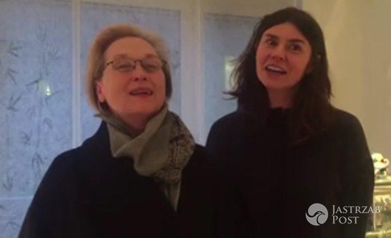 Meryl Streep i Małgorzata Szumowska śpiewają 100 lat Andrzejowi Wajdzie