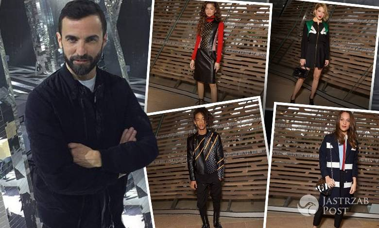 Goście pokazu Louis Vuitton