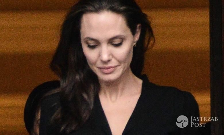 Angelina Jolie z wizytą w Grecji (fot. East News)