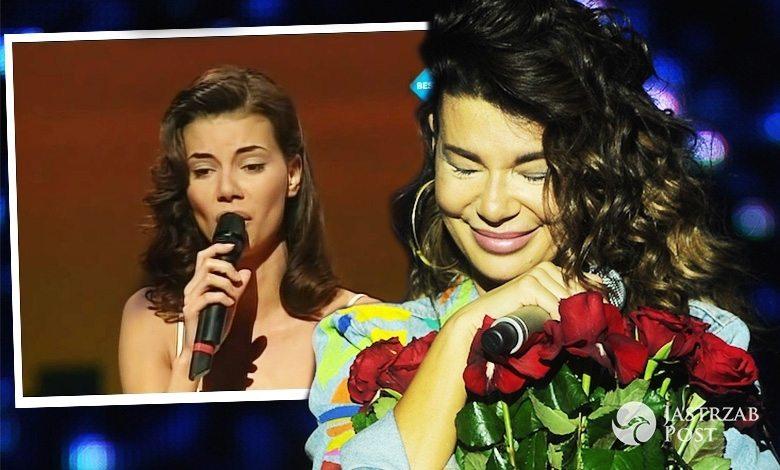 Edyta Górniak sukienka na Eurowizji 1994