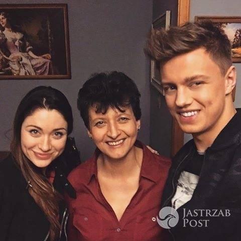 Rafal Jonkisz z mamą