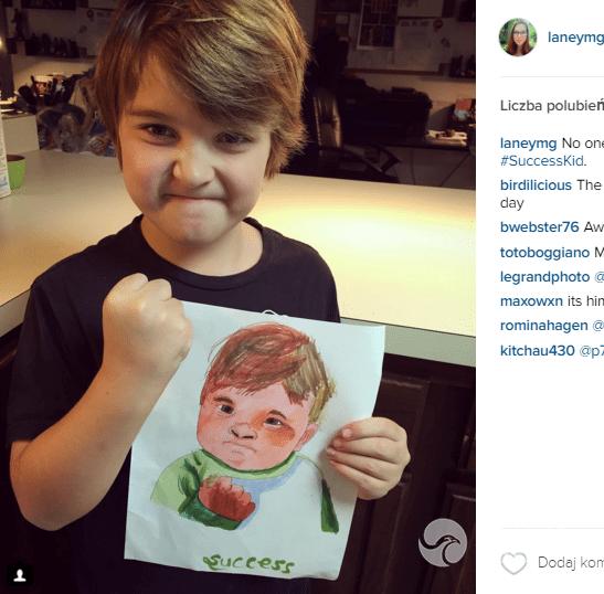 """Sammy Griner, chłopiec z mema """"Succes Kid"""""""