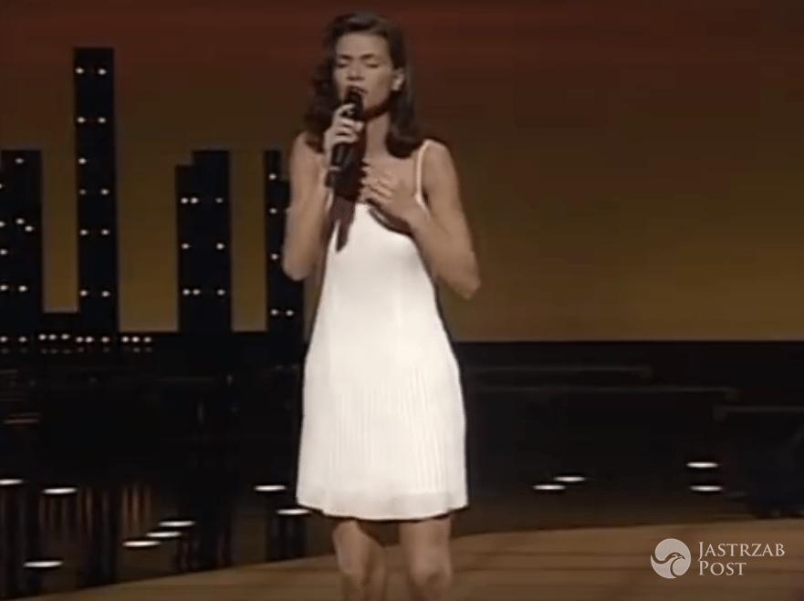 Suknia Edyty Górniak na Eurowizji 1994