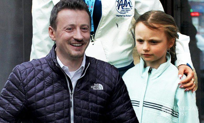 Agam Małysz i Karolina Małysz