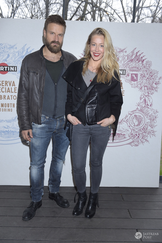 Piotr Stramowski i Katarzyna Warnke na imprezie Martini