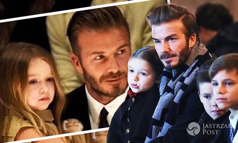 David Beckham i Harper Beckham