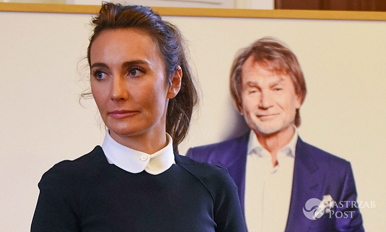 Dominika Kulczyk na rozdaniu stypendiów naukowych w Poznaniu fot East News
