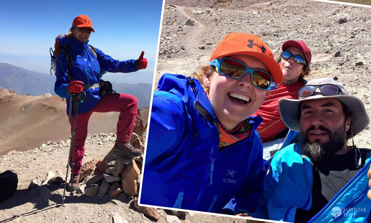 Ewa Wachowicz zdobyła szczyt wulkanu Ojos del Salado